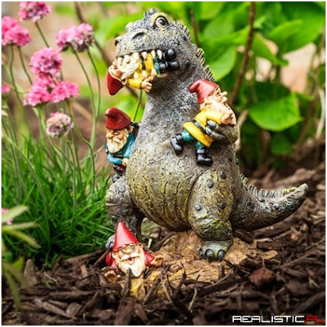 The King of the Lawn Ornaments