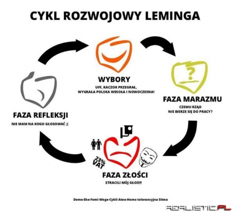 Cykl rozwoju leminga